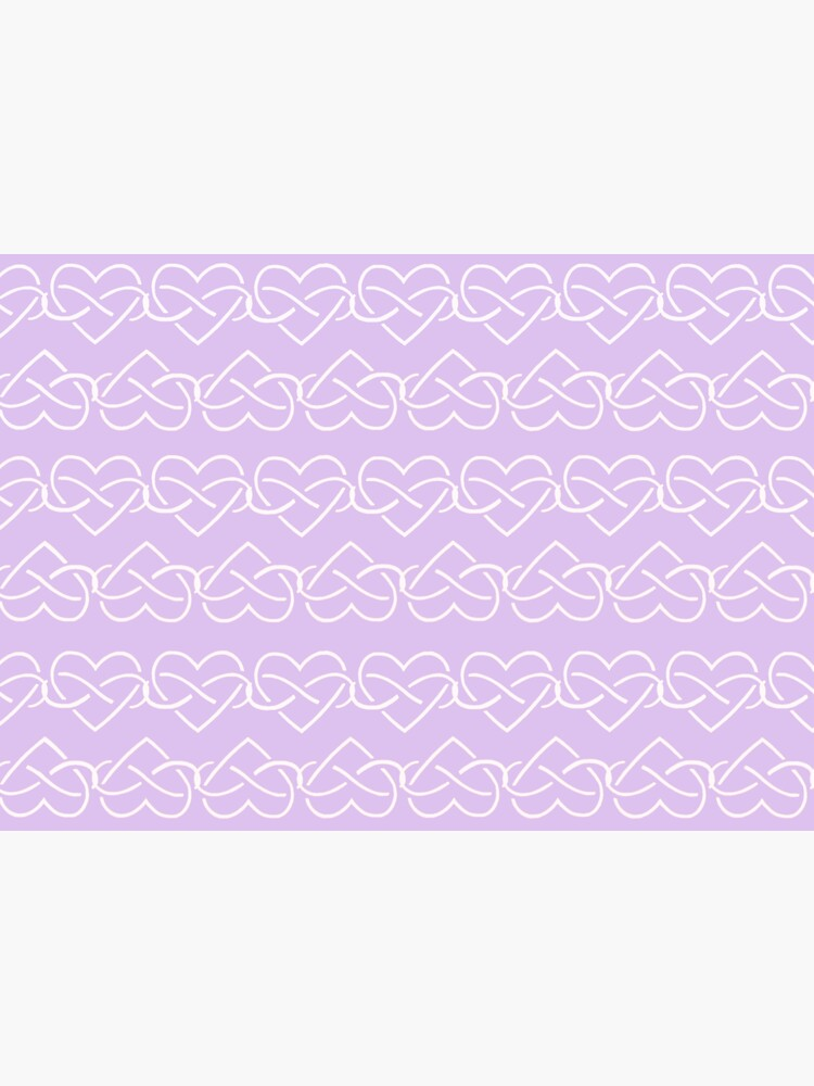 Polyamory Infinity Hearts Chain (Purple) by polyphiliashop