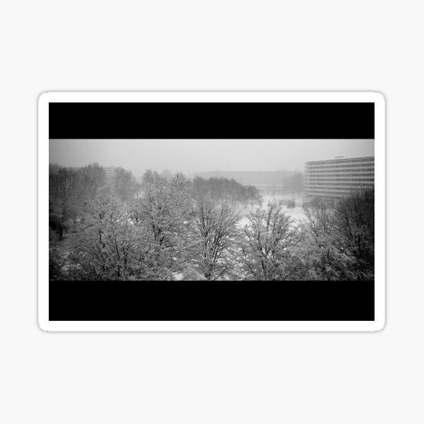 Snow in the Bijlmer Sticker