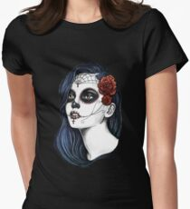 Day of the dead Womens Fitted T-Shirt