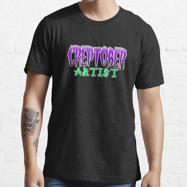 Creptober Artist Classic Logo Essential T-Shirt