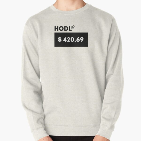 Wall Street Bets Stonks HODL GME AMC GameStop Pullover Sweatshirt