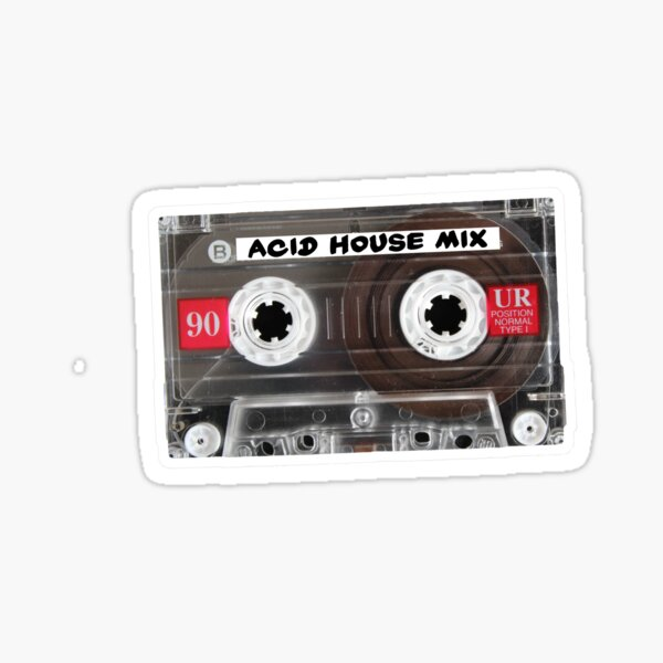Acid House | MixTape Sticker