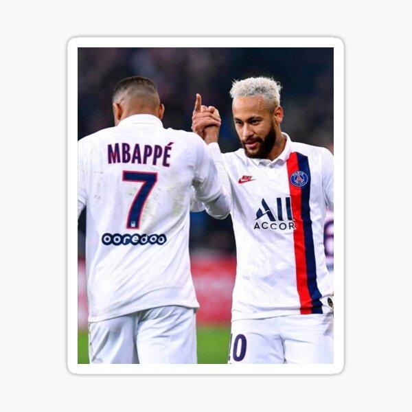 Art Mbappe et Neymar Sticker