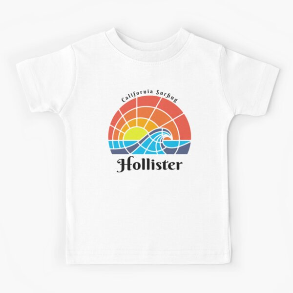 Surf en Californie, Hollister, Calfornia. T-shirt enfant
