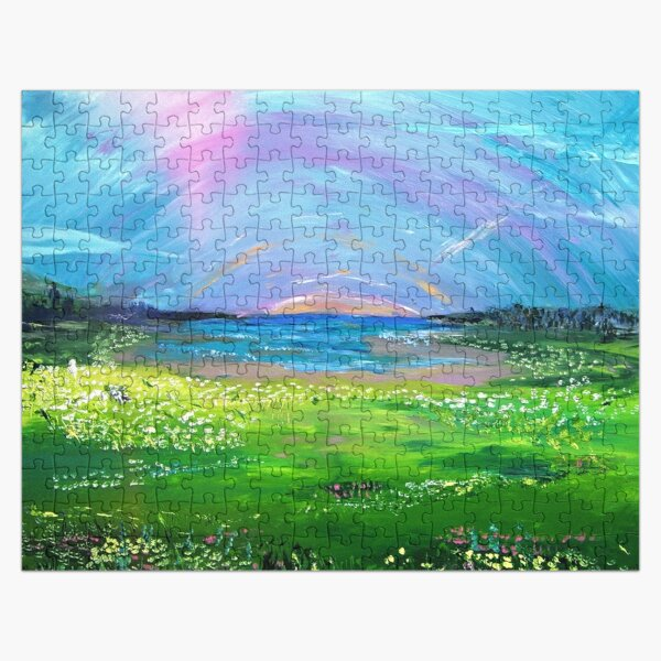 Peaceful Valley Jigsaw Puzzle