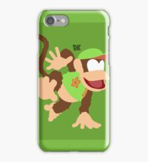 Diddy Kong (Green) - Super Smash Bros. iPhone Case/Skin