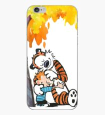 Calvin and Hobbes Under Tree iPhone Case