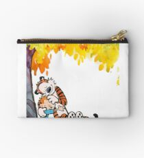 Calvin and Hobbes Under Tree Studio Pouch