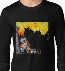 Calvin and Hobbes Under Tree T-Shirt