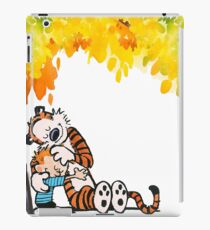 Calvin and Hobbes Under Tree iPad Case/Skin