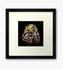 Death at the Space Framed Print