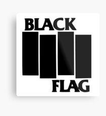 Black Flag Metal Print