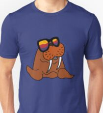 Hilarious Cool Walrus in Sunglasses  Unisex T-Shirt