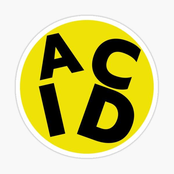 Acid House Sticker Sticker