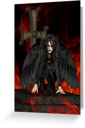 Dark Angel .. the vampires reaper by LoneAngel