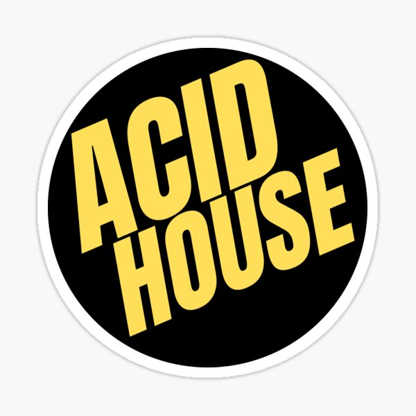 Acid House | Culture Sticker