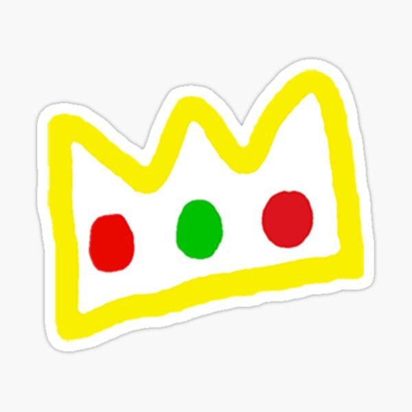 Ranboo Crown Sticker