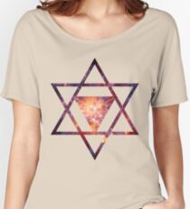 Sacred Geometry Space II Women's Relaxed Fit T-Shirt