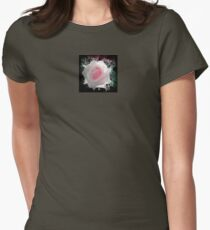 Transparence d'une Rose  Womens Fitted T-Shirt