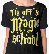 I'm off to MAGIC SCHOOL Chiffon Top
