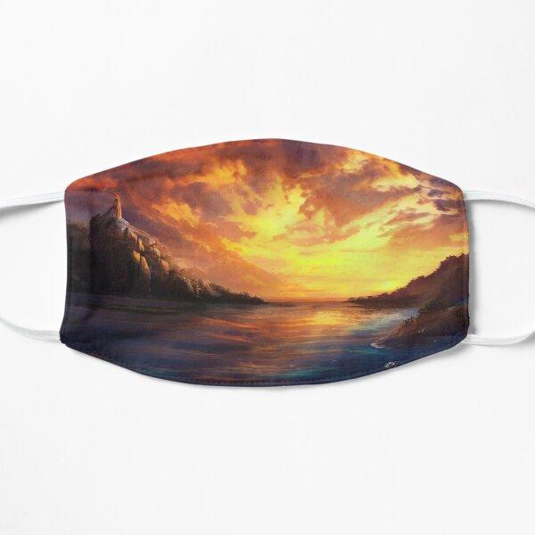 Beautiful Sunset On An Ocean Landscape Mask
