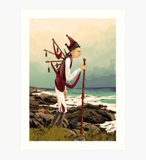 Piper Art Print