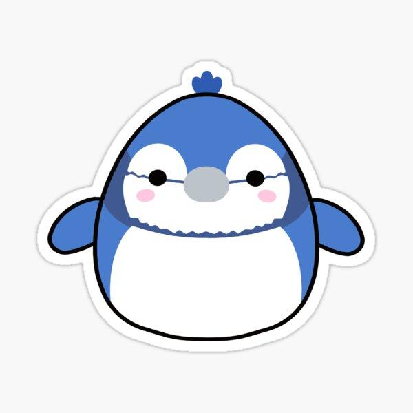 Blue Jay Squishmalllow Sticker