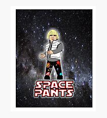Space Pants Photographic Print