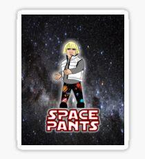 Space Pants Sticker