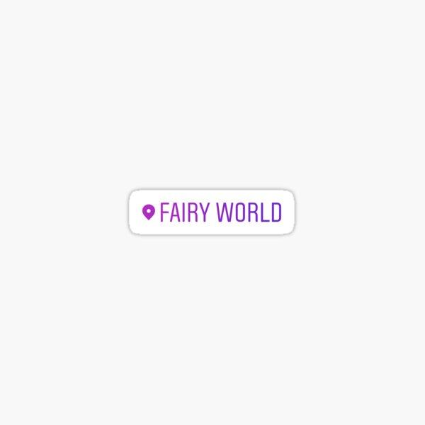 Fairy World Sticker