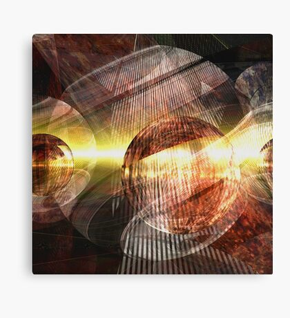 Virulent Reality Canvas Print