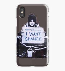 Banksy: Change iPhone Case/Skin