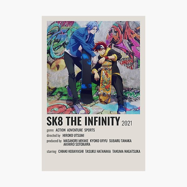 SK8 The Infinity Photographic Print