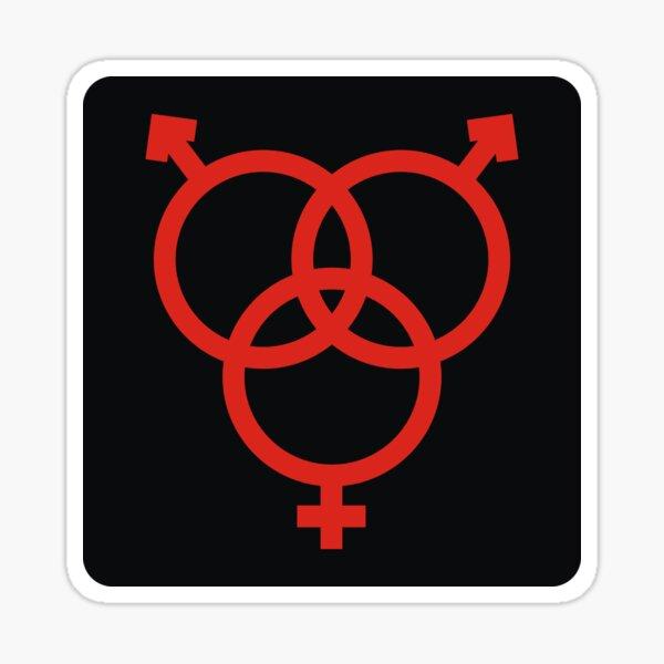 Swingers MMF Symbol Sticker