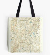 USGS TOPO Map Connecticut CT Gilead 331030 1892 62500 Tote Bag