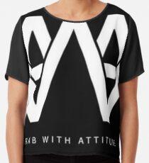 AWA - Arab With Attitude Chiffon Top