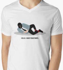WSY: Hello, I have your pants pt 2 Men's V-Neck T-Shirt