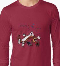 Calvin and Hobbes Sleep Long Sleeve T-Shirt