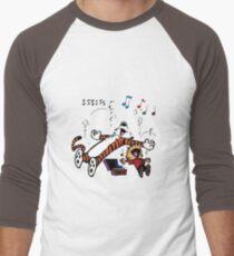 Calvin and Hobbes Sleep Men's Baseball ¾ T-Shirt