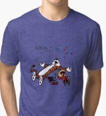 Calvin and Hobbes Sleep Tri-blend T-Shirt