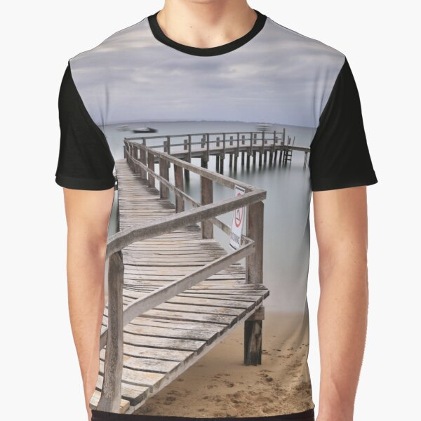 Shelley beach - Portsea Graphic T-Shirt