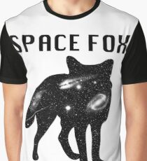 Fox - Filled with Space  Graphic T-Shirt