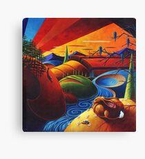 Evening Disquiet Canvas Print