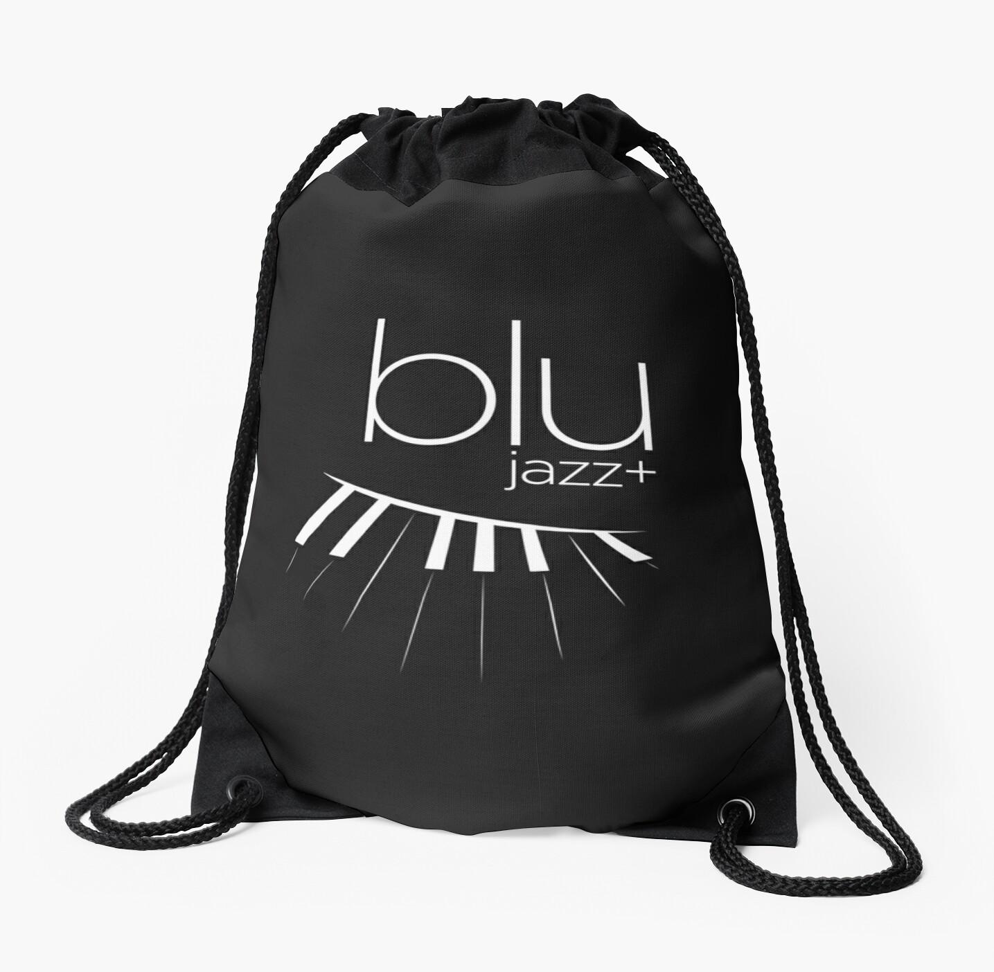 BLU Logo (white, 1-color) by blujazzakron