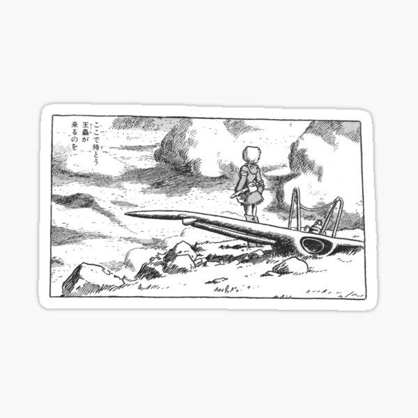 Nausicaa Manga Sticker