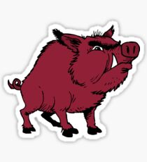 Razorback Hog Sticker