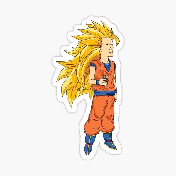 Super Saiyan Boomhauer Sticker