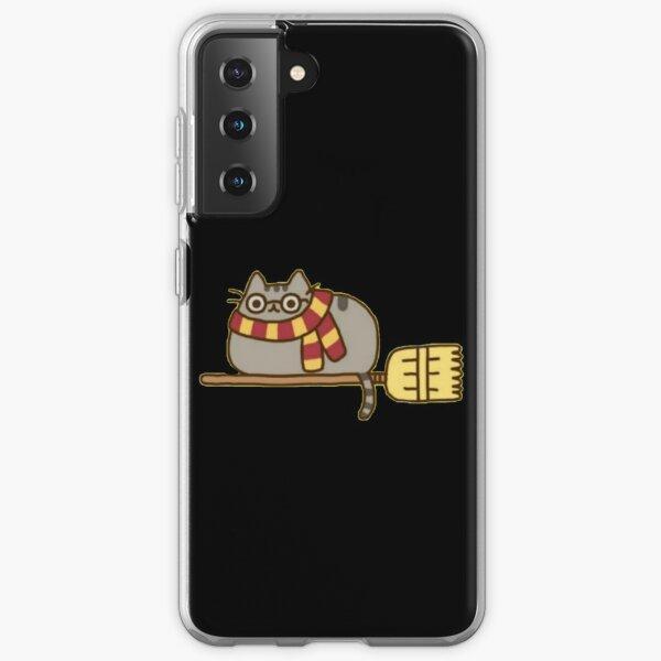 chat Coque souple Samsung Galaxy