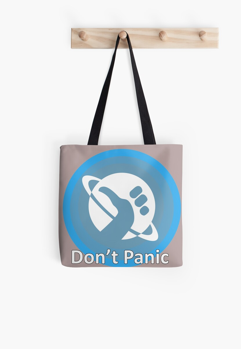 Dont Panic Hitchhikers Guide To The Galaxy Themed Dont Panic