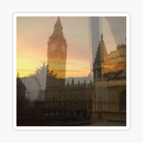 London Sunset Sticker